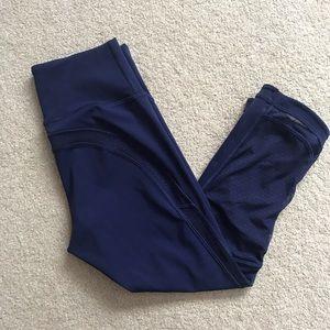Lululemon Dark Blue/Purple Crop Pants